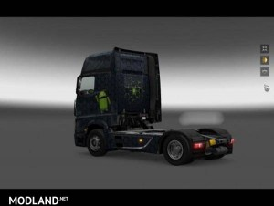 Mercedes Actros 2014 Android Skin