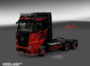 Mercedes Actros MPIV 2014 Super Star Skin, 1 photo