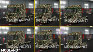 Combo Skin Military for all Truck and (Krone & Standard Trailers), 7 photo