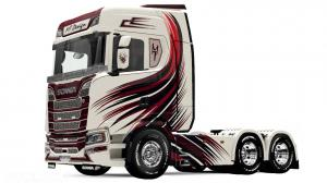 Scania S MT Design skin, 2 photo