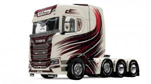 Scania S MT Design skin