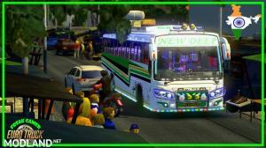 New Deep Bus Punjab skin For Maruti V2, 1 photo