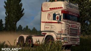 Norwegen Skin for Scania RJL, 1 photo