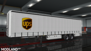 UPS Trailer Skin ETS 2 1.37
