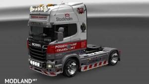 Powerhouse Scania Streamline R730 Skin, 1 photo