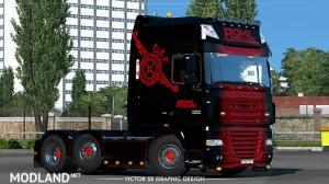 ROML Cargo Logistics Special DAF XF105 Skin