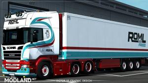 ROML Cargo Frigo RJL's Scania Streamline and Krone Coolliner Skinpack, 1 photo