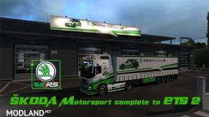 Skoda Motorsport complete, 1 photo