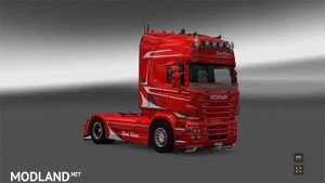 Red Rose Scania skin, 1 photo