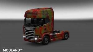 RLJ Scania abstract skin