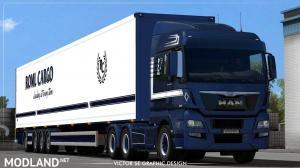 ROML Cargo MAN TGX Euro6 and VAK 4.4m DRY HCT Skinpack, 4 photo