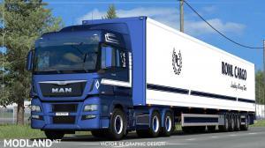 ROML Cargo MAN TGX Euro6 and VAK 4.4m DRY HCT Skinpack, 1 photo