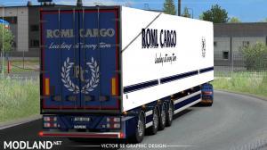 ROML Cargo MAN TGX Euro6 and VAK 4.4m DRY HCT Skinpack, 3 photo