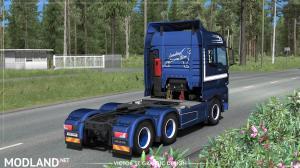 ROML Cargo MAN TGX Euro6 and VAK 4.4m DRY HCT Skinpack, 2 photo