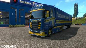 Scania Blue-Yellow Paint Edition, 5 photo