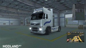 Scania and Volvo Frigo express Skin pack