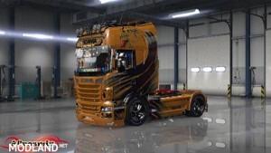 Scania Best Orange Skin