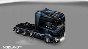 Scania Blue & Dark Skin