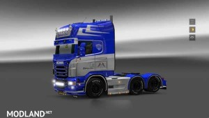 Scania Ely Trans Holand Skin