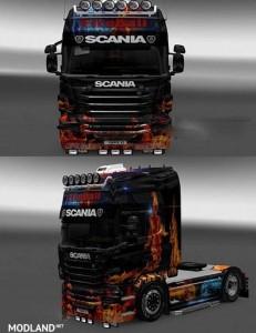 Scania R FiREABALL Skin 1.16.x