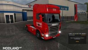 Scania R Skin Bartolini v 1.1, 1 photo