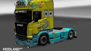 Scania R Spongebob Skin 1.16.x