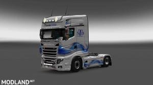 Scania R700 STD Logistic Skin, 2 photo