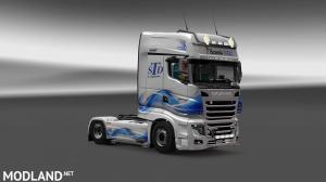 Scania R700 STD Logistic Skin, 1 photo