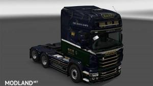 Scania R&S Topline H.C.N. transport skin, 1 photo