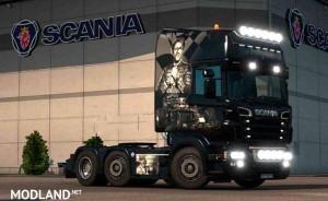 Scania RJL 1.4 F1 Legends Airbrush Skin, 1 photo