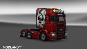 Scania RJL Aces Skin, 1 photo