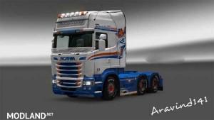 Scania RJL Armstrong Transport Skin