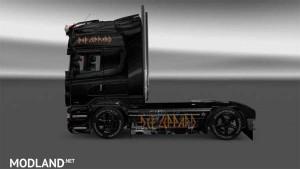Scania RJL Def Leppard Skin, 1 photo