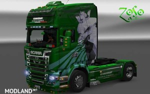 Scania RJL Emerald 40 Anniversary Scania Finance Skin, 1 photo