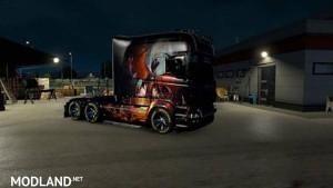 Scania RJL EXC Longline Phenix Skin, 1 photo