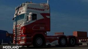 Scania RJL Nord Express Skin