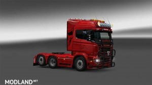 Scania RJL Redlady Skin, 1 photo