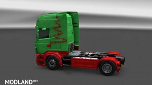 Scania RJL Topline Christmas Skin - Direct Download image