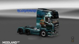 Scania Streamline Fantasy Ship Skin v 2.0
