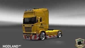 Scania Streamline Rosneft Skin