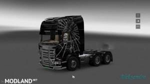 Scania Streamline Spider Skin