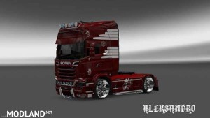 Scania Streamline Vaex Reek Holland Skin, 1 photo