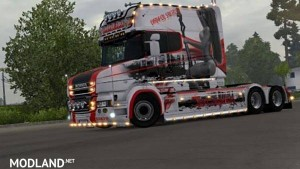 Scania T RJL Lovely Swirls Skin, 1 photo