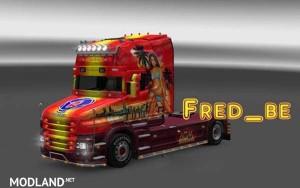 Scania T Transport Beau Skin
