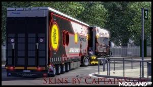 Scania Truck Show R2009 including Trailer Skin v 1.0