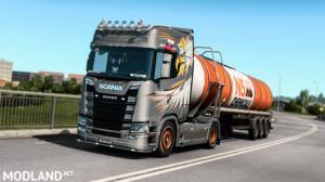 Skåne Edition Skin Scania S&R 2016 v1.2, 2 photo