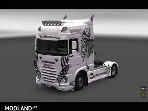 Skin Daf E6 Viking
