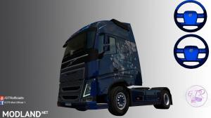 Skin Blue Metallic for Volvo FH 2012, 1 photo