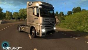 Smink Autotransport Mercedes Actros MPIV skin