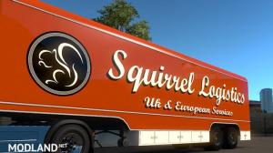 Squirrel Logistics Trailer skin, 3 photo
